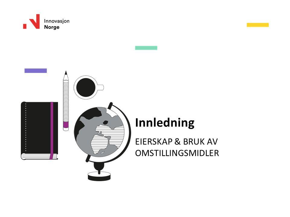 Innovasjon Norge Gir erfaringsbaserte råd og veiledning Tilbyr verktøy og maler Vurderer fremdrift og resultater Observatør i omstillingsstyret www.regionalomstilling.no