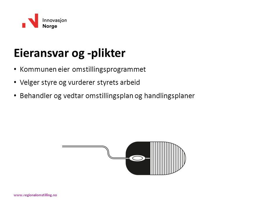 Workshop III HANDLINGSPLAN: REALISERING & OPPFØLGING