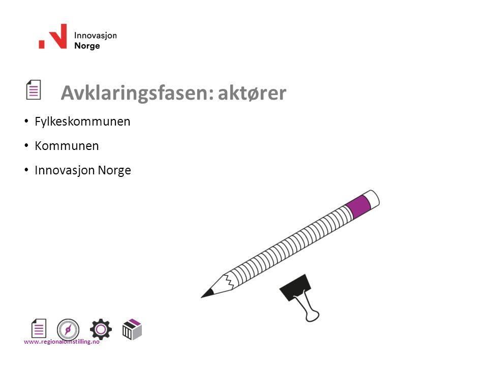 Øvrige verktøy og maler Les om alle verktøy og last ned maler på: regionalomstilling.no www.regionalomstilling.no
