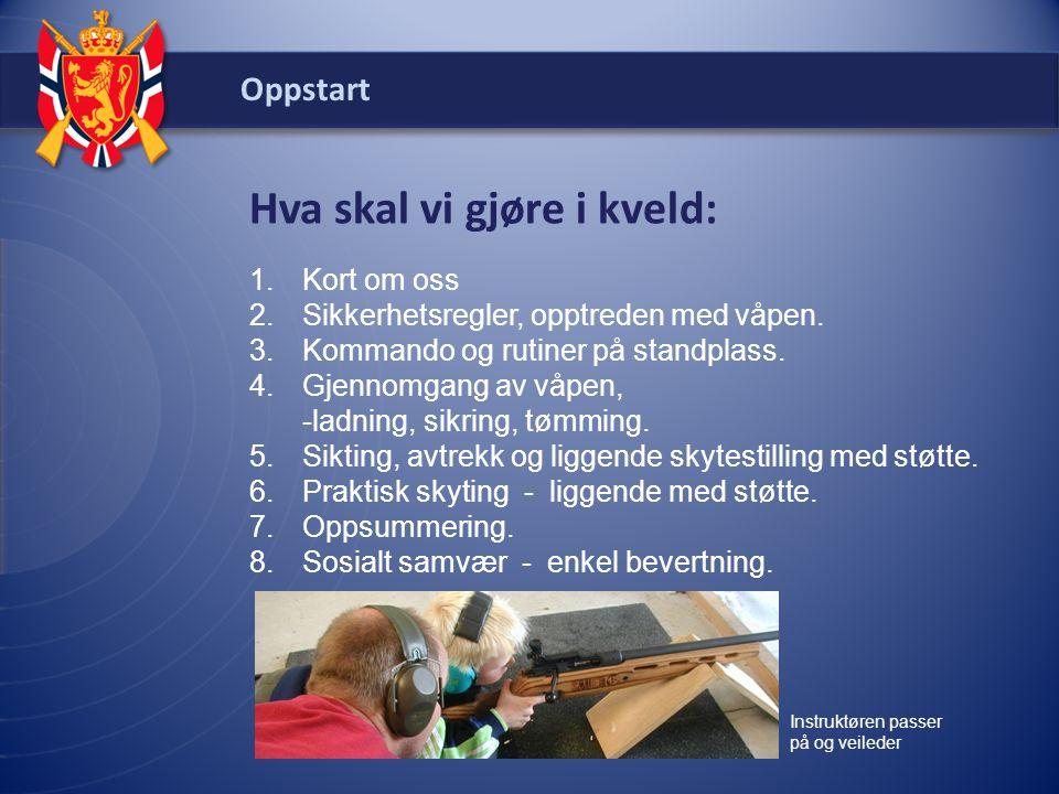 Oppstart Kort om oss DFS ble opprettet av Stortinget i 1893.