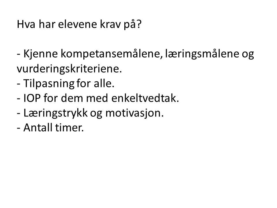 Mal for lokale planer: - tema - generelle mål - kompetansemål - synliggjøring av verdigrunnlag - grunnleggende ferdigheter - læringsmål - lærestoff - arbeidsmåter - tidsrom - timetall - vurderingsmåter - vurderingskriterier