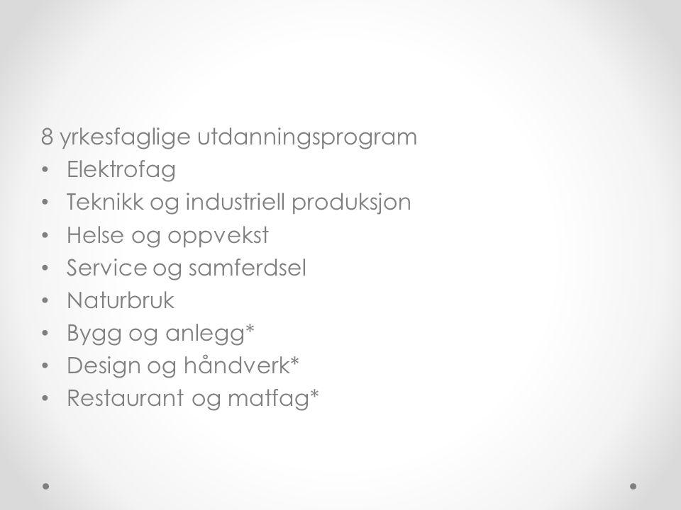 Musikk, dans og drama Et studieforberedende utdanningsprogram som gir generell studiekompetanse Eleven velger allerede ved søking musikk, dans eller drama Elever som har dette på første plass blir innkalt til ferdighetsprøve (0,7 el 1,5 tilleggspoeng) Programfag knyttet til den fordypningen eleven velger Skoler i området: Stavanger Katedralskole avd Bjergsted og Vågen vgs