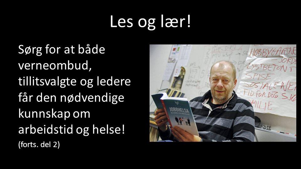 Les og lær.