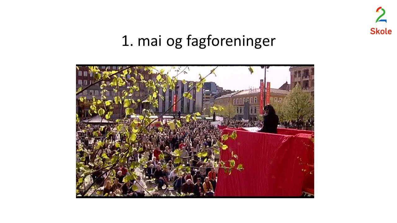1. mai og fagforeninger