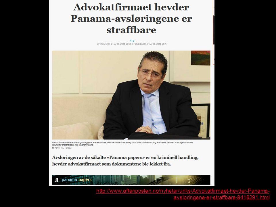 http://www.aftenposten.no/nyheter/uriks/Advokatfirmaet-hevder-Panama- avsloringene-er-straffbare-8416291.html