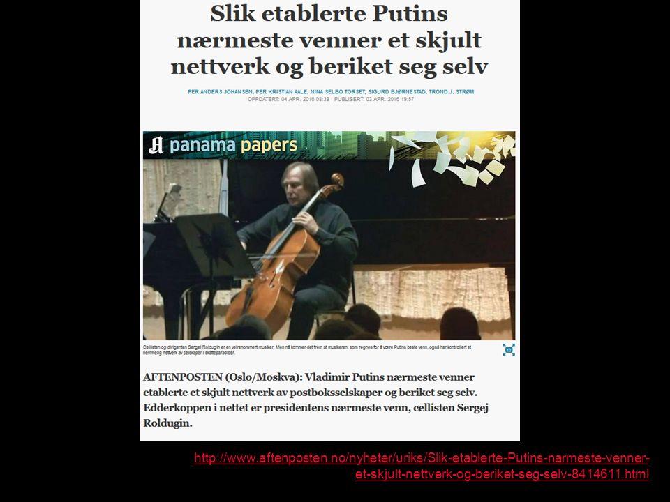 http://www.aftenposten.no/nyheter/uriks/Slik-etablerte-Putins-narmeste-venner- et-skjult-nettverk-og-beriket-seg-selv-8414611.html
