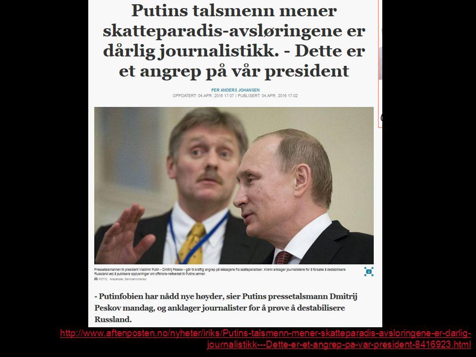 http://www.aftenposten.no/nyheter/iriks/Putins-talsmenn-mener-skatteparadis-avsloringene-er-darlig- journalistikk---Dette-er-et-angrep-pa-var-president-8416923.html