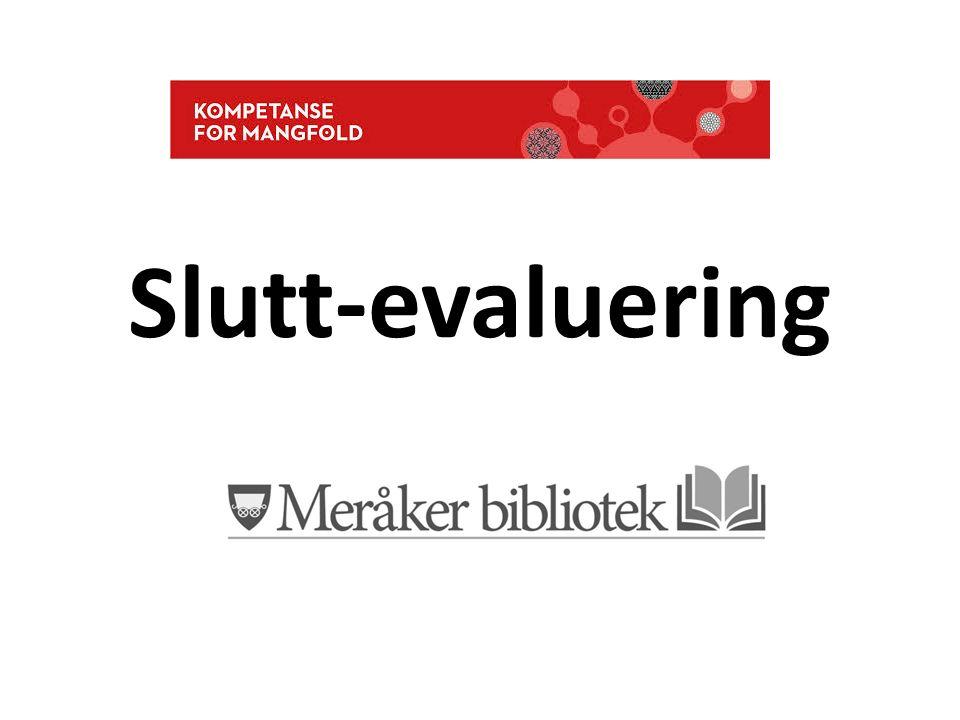 Slutt-evaluering