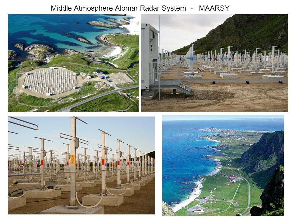 21 Middle Atmosphere Alomar Radar System - MAARSY