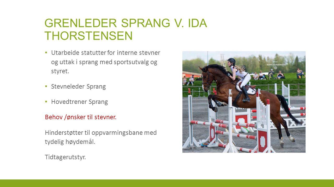 GRENLEDER SPRANG V.