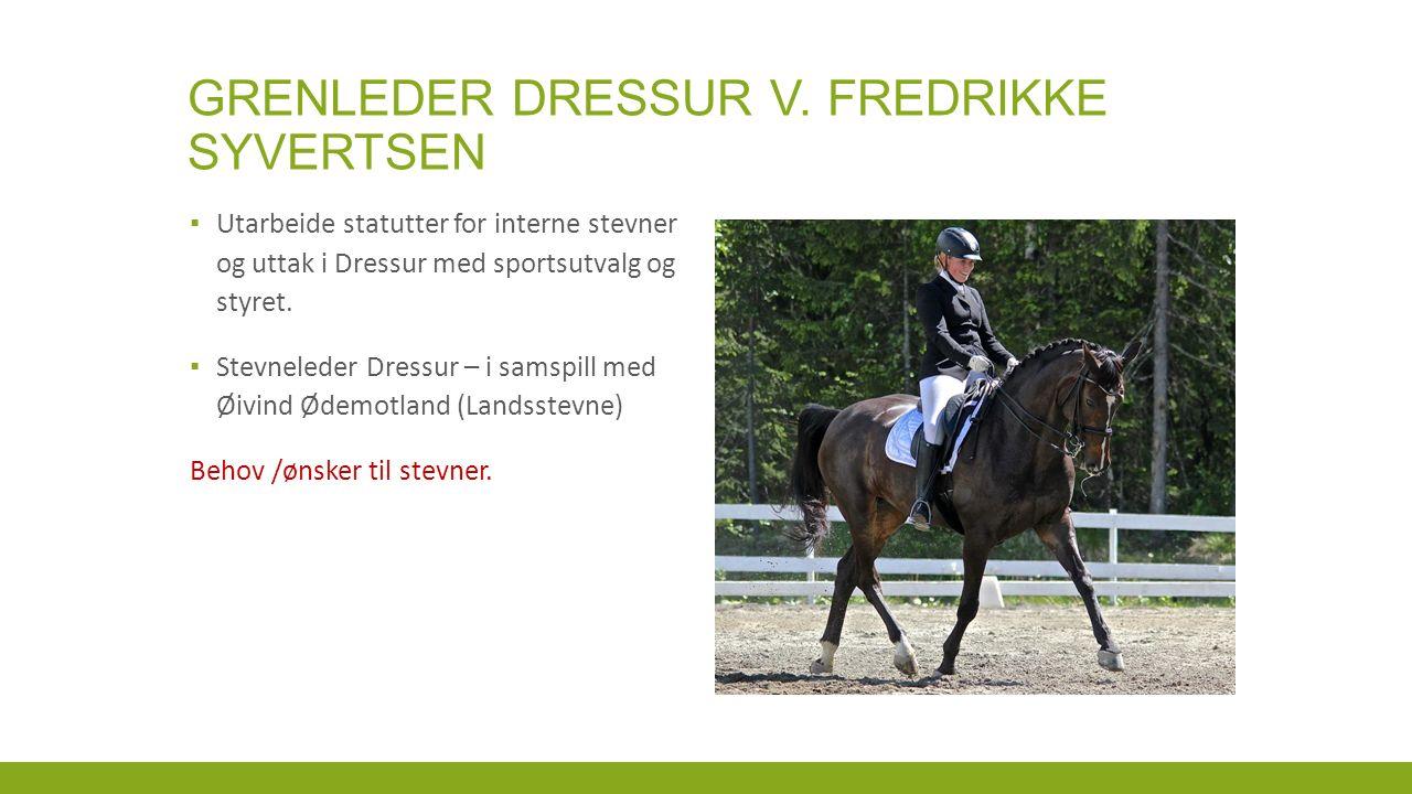 GRENLEDER DRESSUR V.