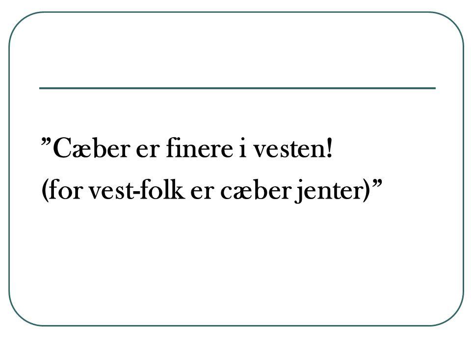 Drikker etnisk norske mer.Drikker du alkohol.