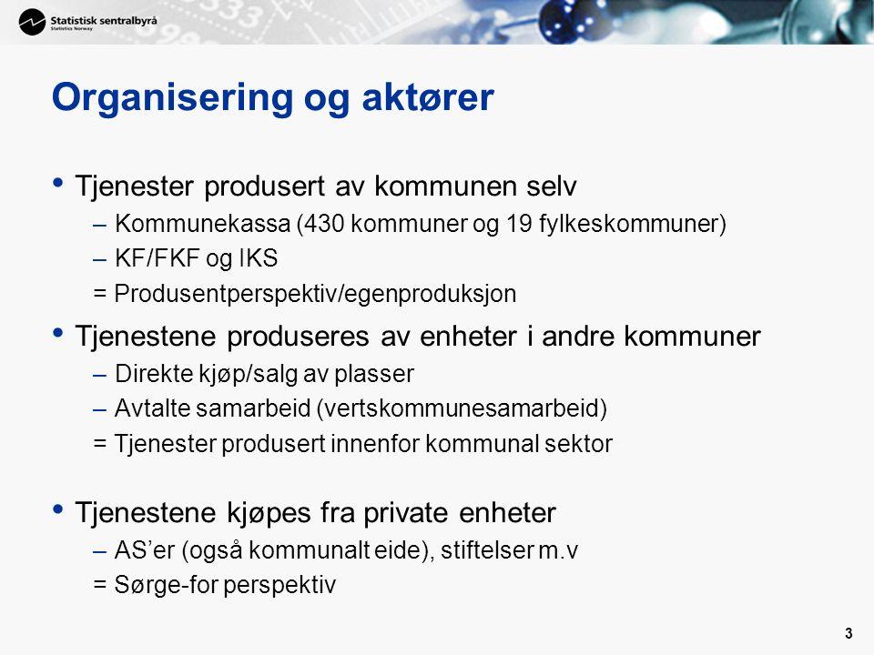 14 Kommunekassa vs konsern - kommunehelse 0602 Drammen, 2009 KommunekassaKonsern Netto driftsutg til diagnose, behandling og rehabilitering pr.