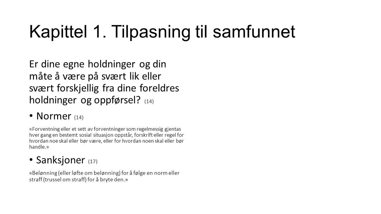 Kapittel 1.