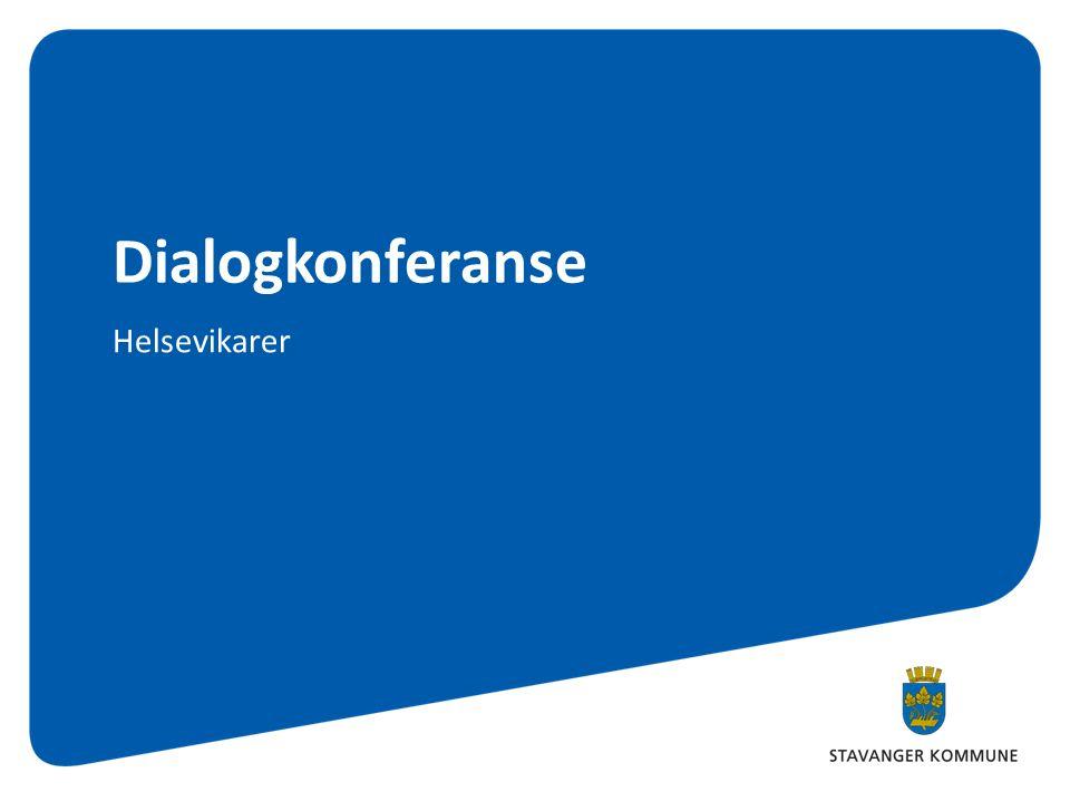Dialogkonferanse Helsevikarer