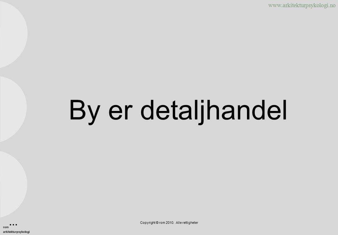 www.arkitekturpsykologi.no Skjerming? Copyright © rom 2010. Alle rettigheter