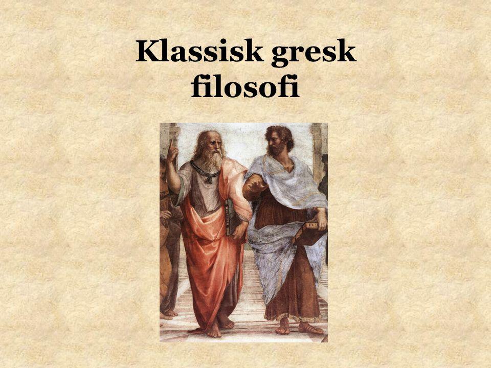 Klassisk gresk filosofi