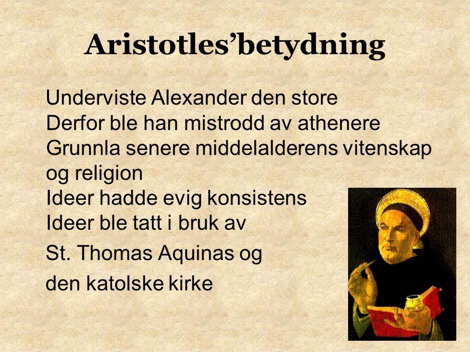 Aristotles Skrev om retorikk Bok som beskriver talen som et middel til å påvirke andre Etos- overtalelsesevne skapt av karakteren Patos-overtalelse blir skapt av lidenskap Logos-overtalelsesevne som finnes i talen selv