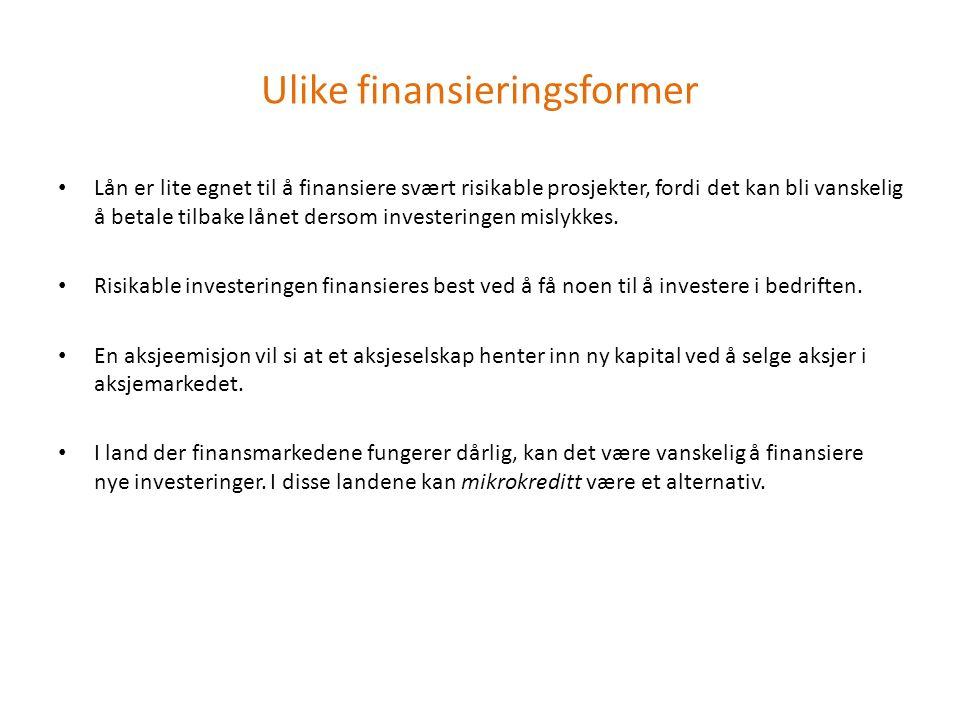 Oslo Børs Børsen er en markedsplass for kjøp og salg av verdipapirer.
