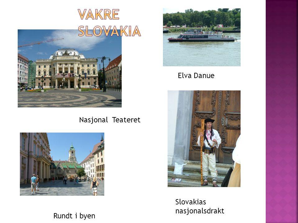 Elva Danue Slovakias nasjonalsdrakt Nasjonal Teateret Rundt i byen