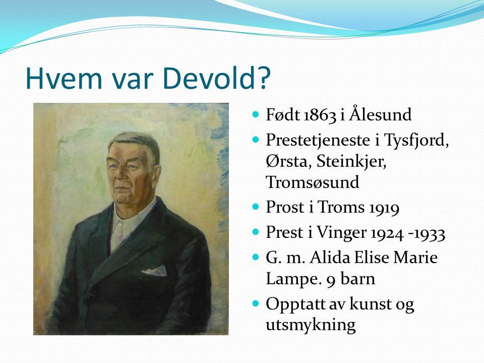 Hvem var Devold.
