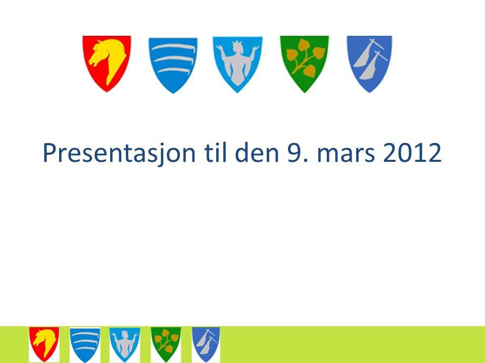 Presentasjon til den 9. mars 2012