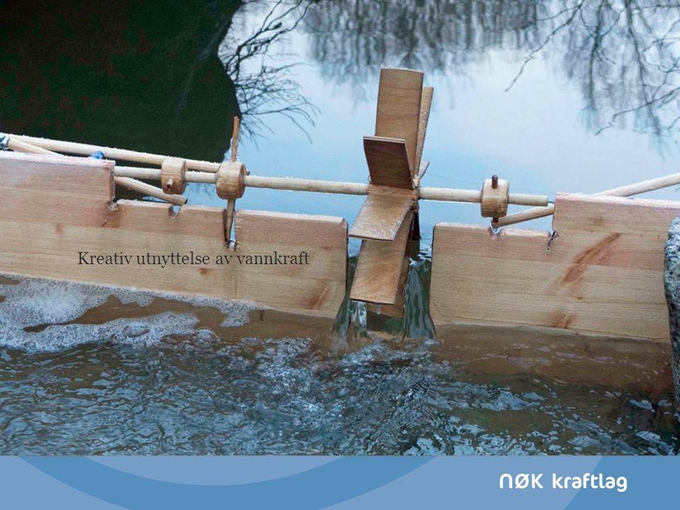 Kreativ utnyttelse av vannkraft