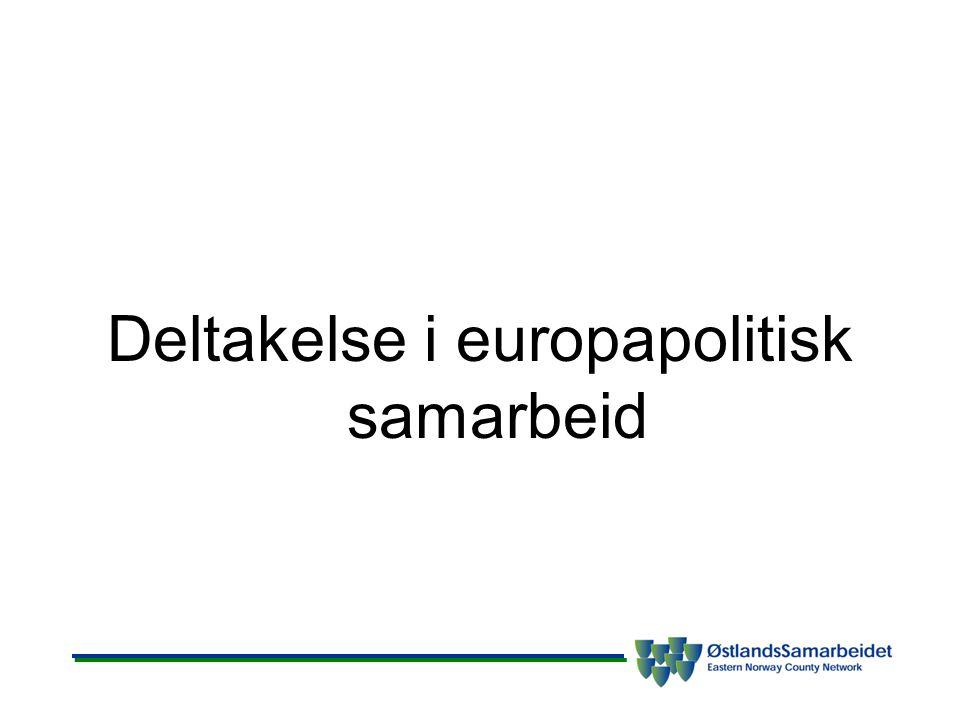 Deltakelse i europapolitisk samarbeid