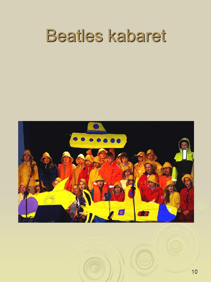10 Beatles kabaret