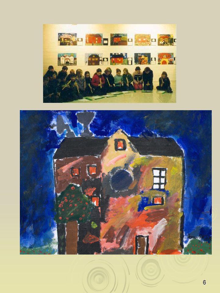 17 LIAF Junior Kunstnere Ingrid, Steffen og Silje fra Institutt for farge, Oslo