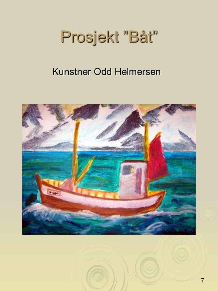 7 Prosjekt Båt Kunstner Odd Helmersen