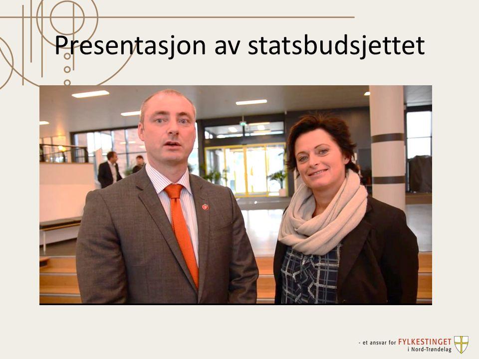 Presentasjon av statsbudsjettet
