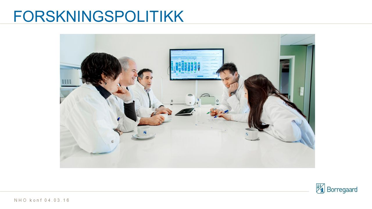 FORSKNINGSPOLITIKK NHO konf 04.03.16