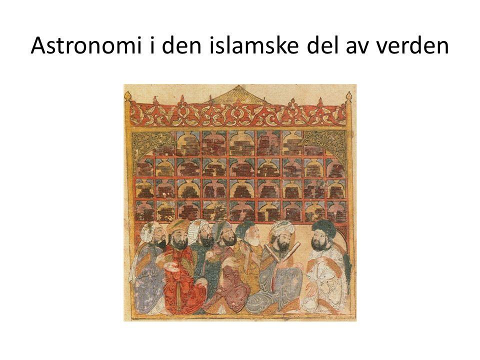 Astronomi i den islamske del av verden