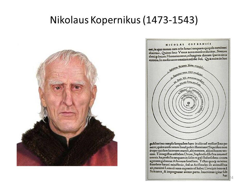 24 Nikolaus Kopernikus (1473-1543)