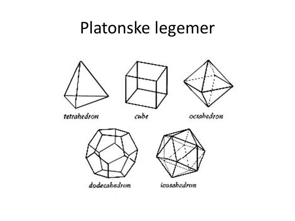 Platonske legemer