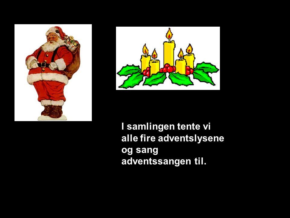 God Jul og gott nytt år !! Slutt Så var nissefesten over