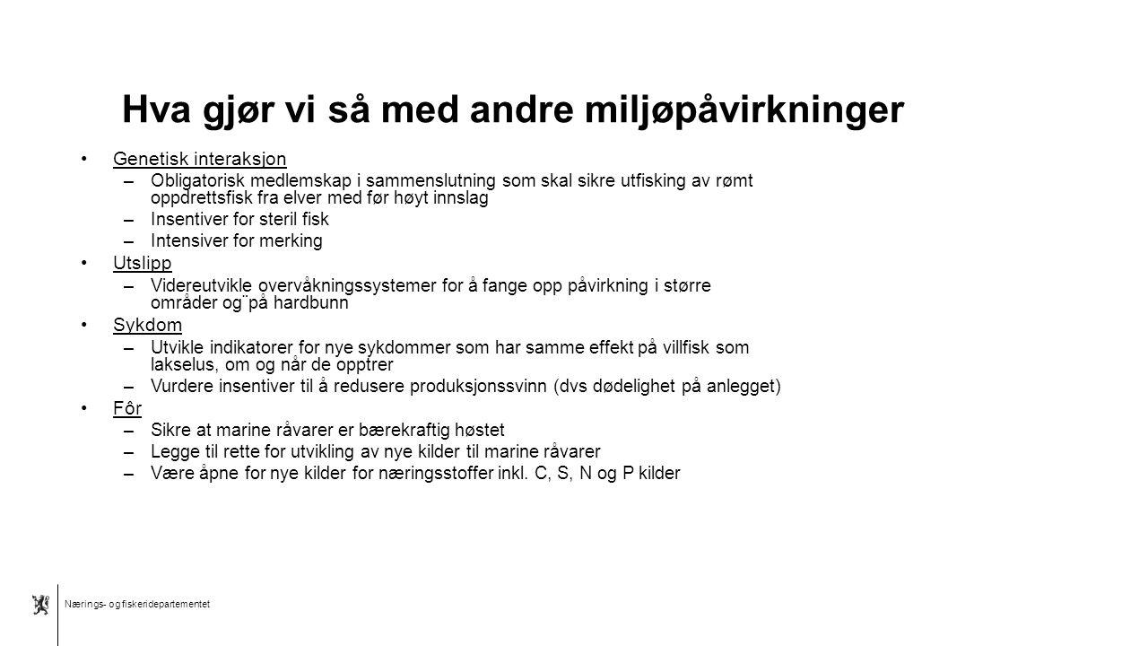 Nærings- og fiskeridepartementet Norsk mal: Tekst med kulepunkter – 4 vertikale bilder Tips bilde: For best oppløsning anbefales jpg og png-format. Hv