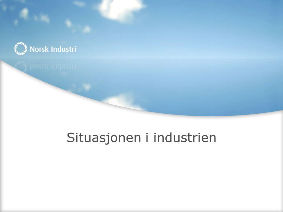 Situasjonen i industrien