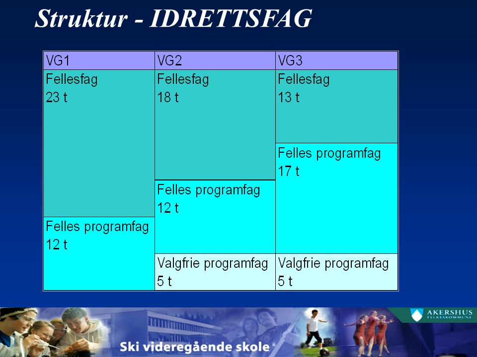 Struktur - IDRETTSFAG