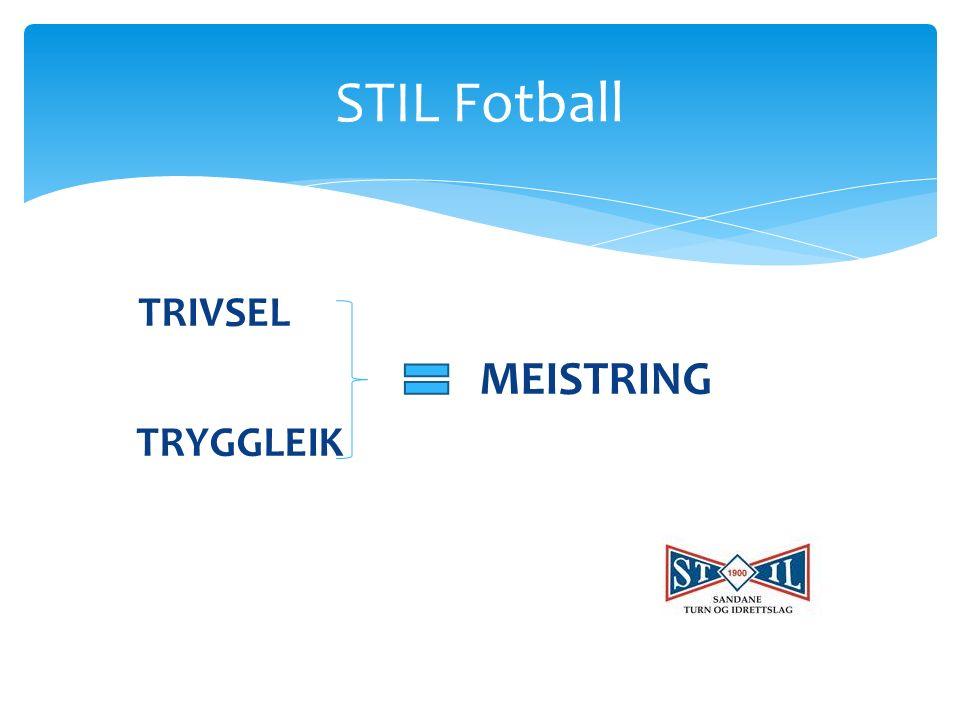 TRIVSEL MEISTRING TRYGGLEIK STIL Fotball