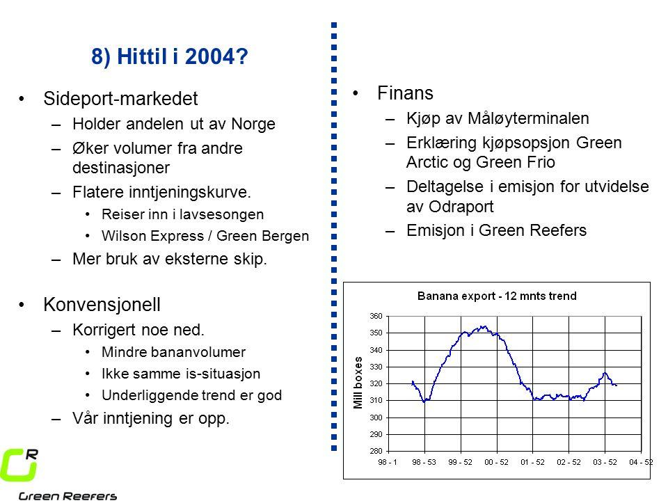 8) Hittil i 2004.