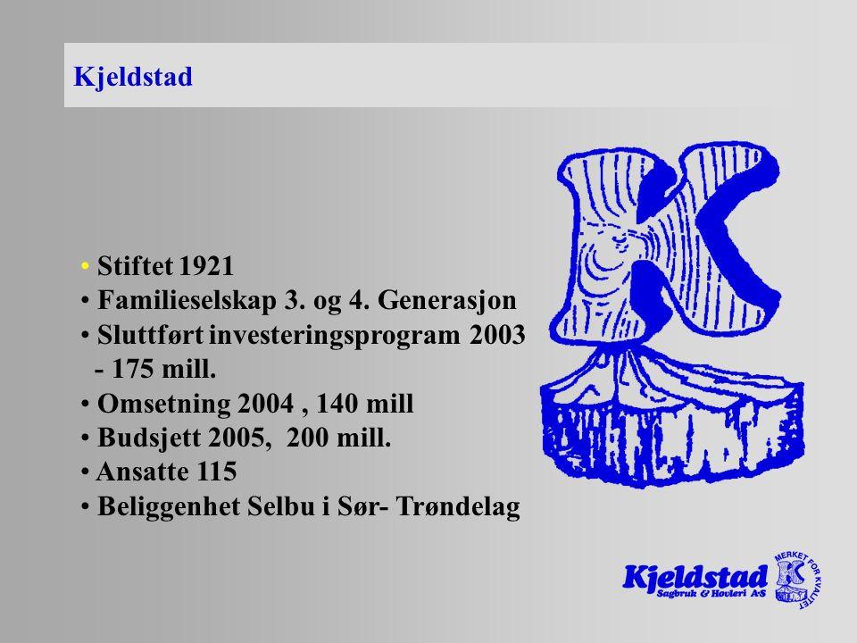 - bjelke / stender RETNINGSTABIL SOM SIKTELINJE K-bjelke- Egenskaper