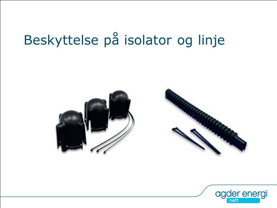 Beskyttelse på isolator og linje