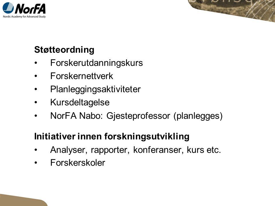 Forskerutdanningskurs Søknadsfrist 2.mai.