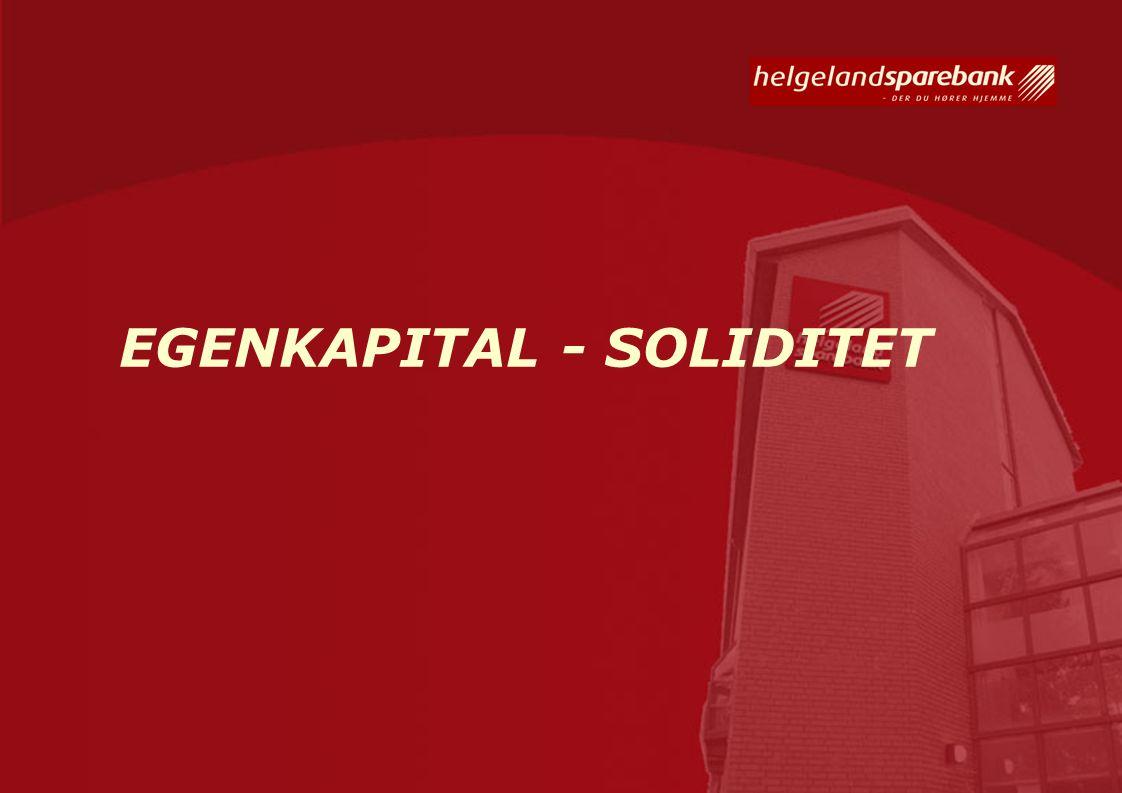 EGENKAPITAL - SOLIDITET