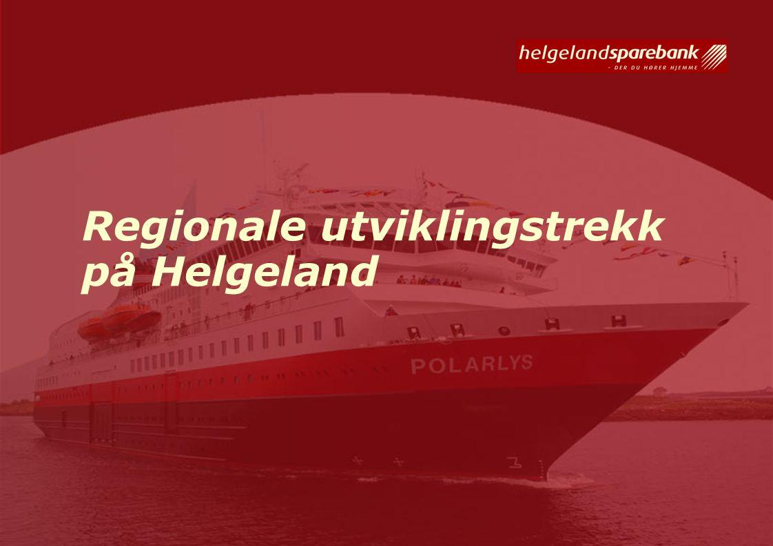 Regionale utviklingstrekk på Helgeland