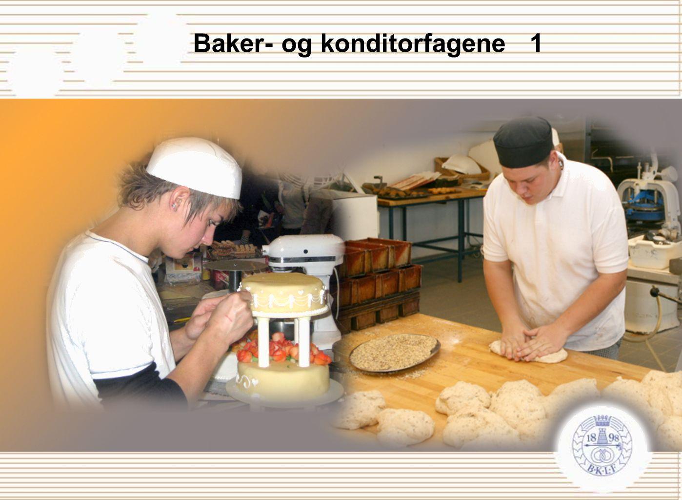 Baker- og konditorfagene 1