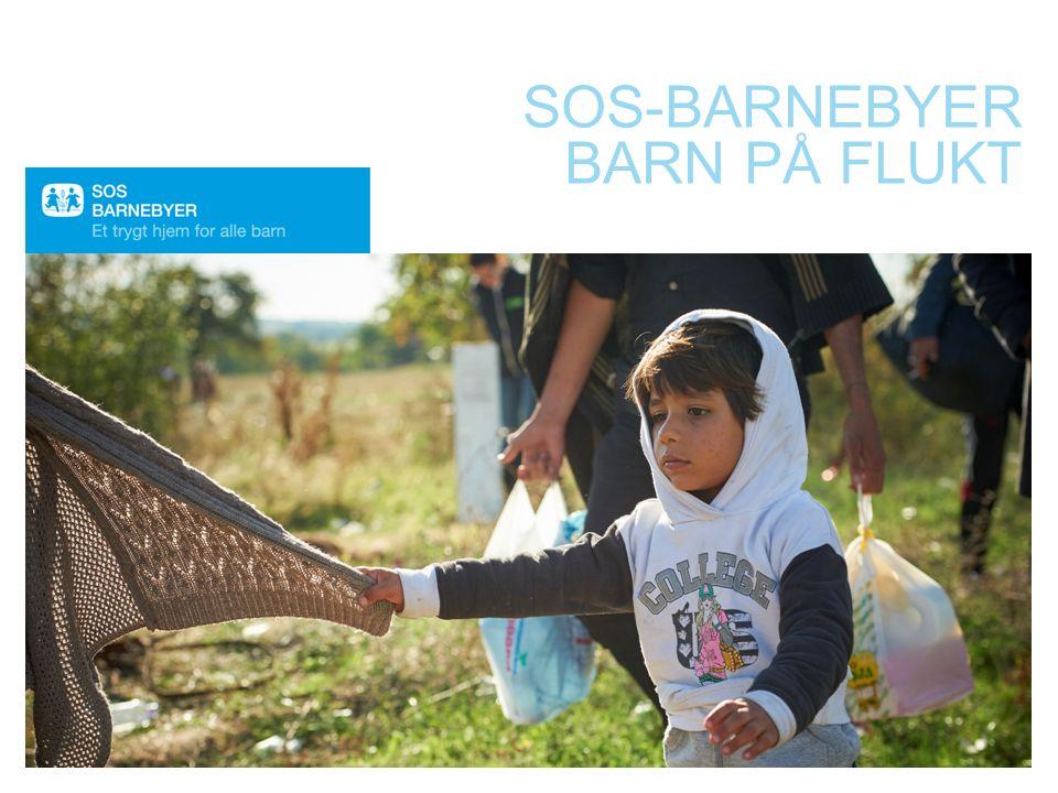 SOS-BARNEBYER BARN PÅ FLUKT