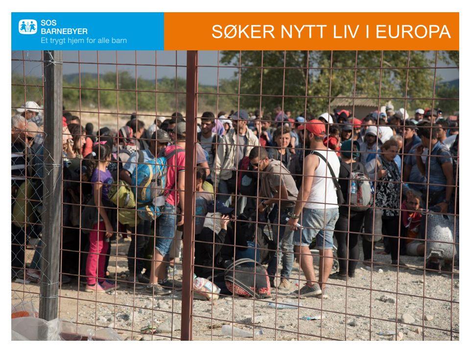 SØKER NYTT LIV I EUROPA